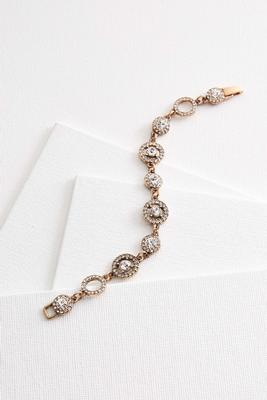 halo stone bracelet