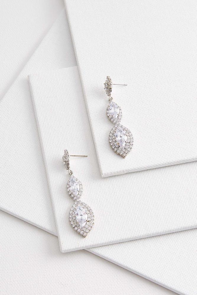 Elegant Marquise Earrings
