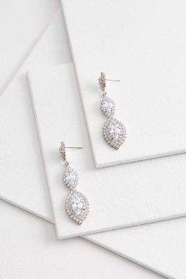 elegant marquise earrings