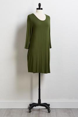 green tee please shirt dress