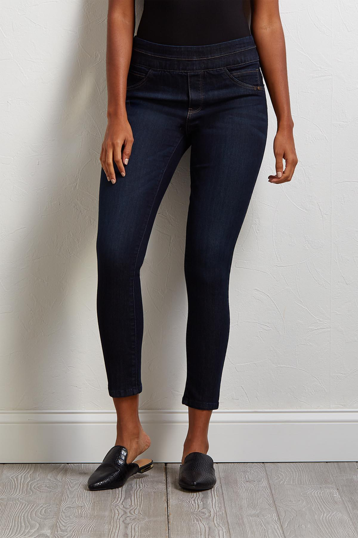 Slimming Denim Jeggings