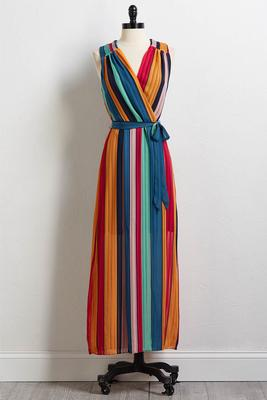 side to side maxi dress