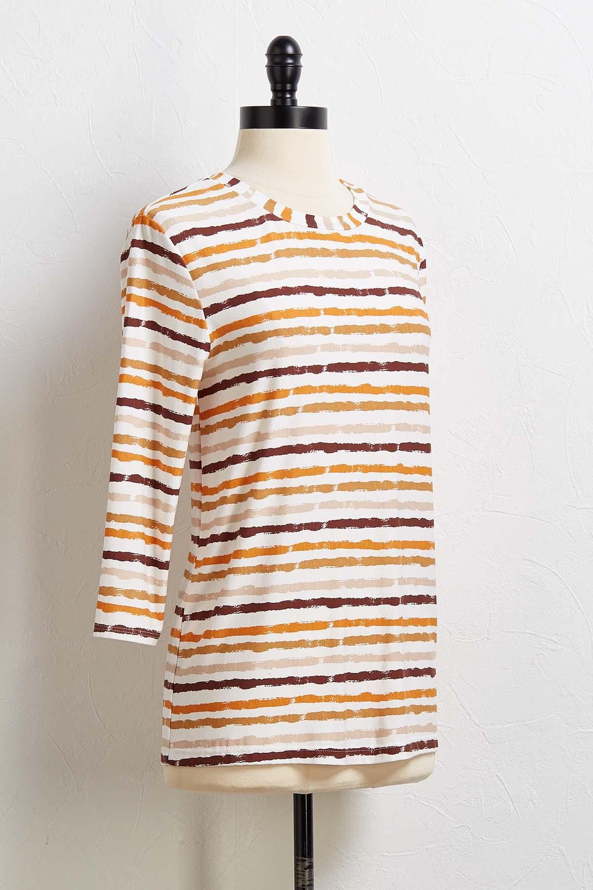 Feeling Fine Striped Top