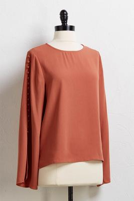 tea time button top