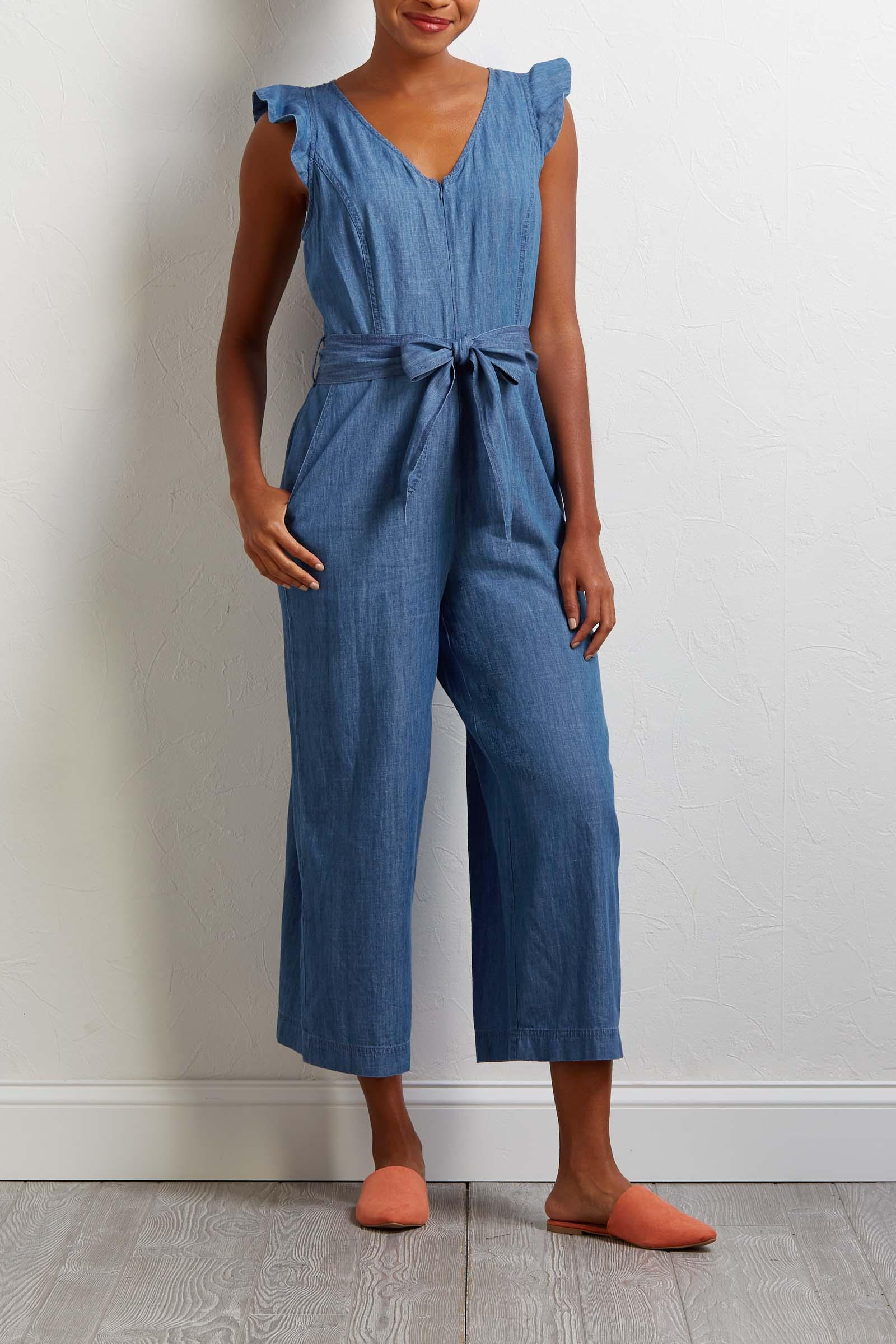 Jean- Ie From The Block Jumpsuit