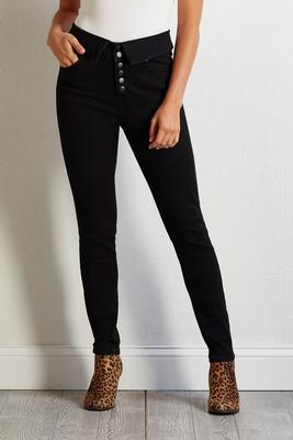 fold over skinny jeans