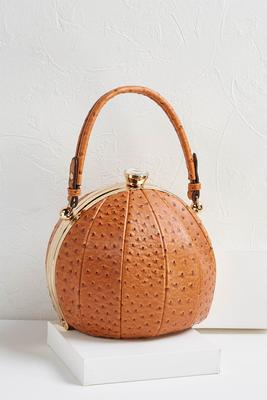 ball shaped textured bag
