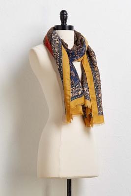 spice market oblong scarf