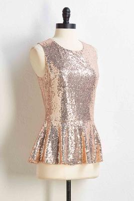 sequin or lose top