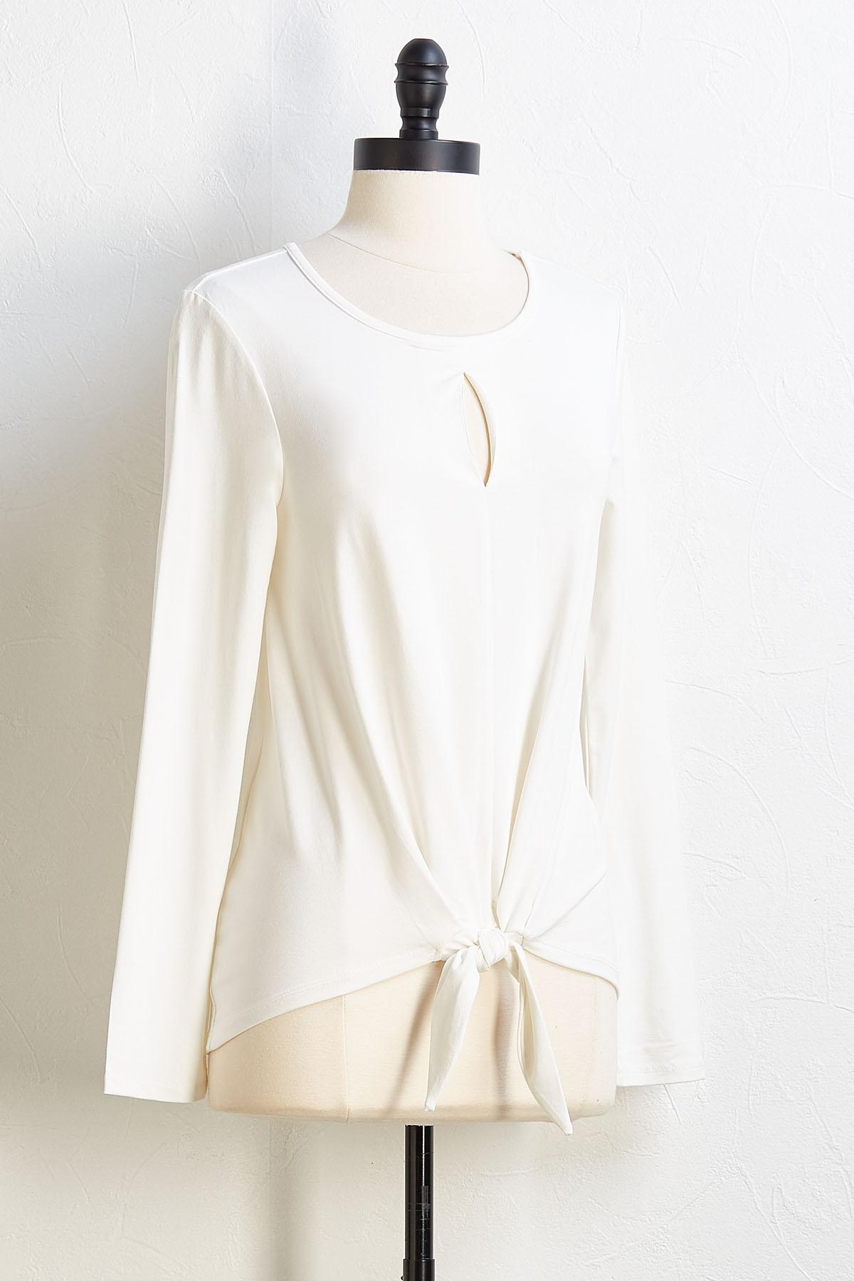 Cut- Out To The Chase Top