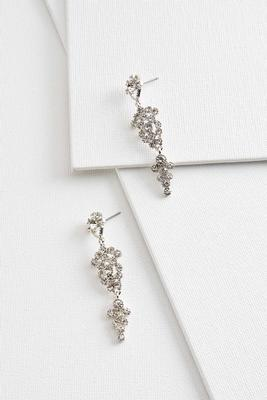 dreamy rhinestone earrings