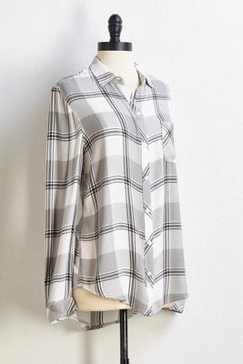 take a rain checkered top
