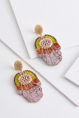 autumn glitz earrings