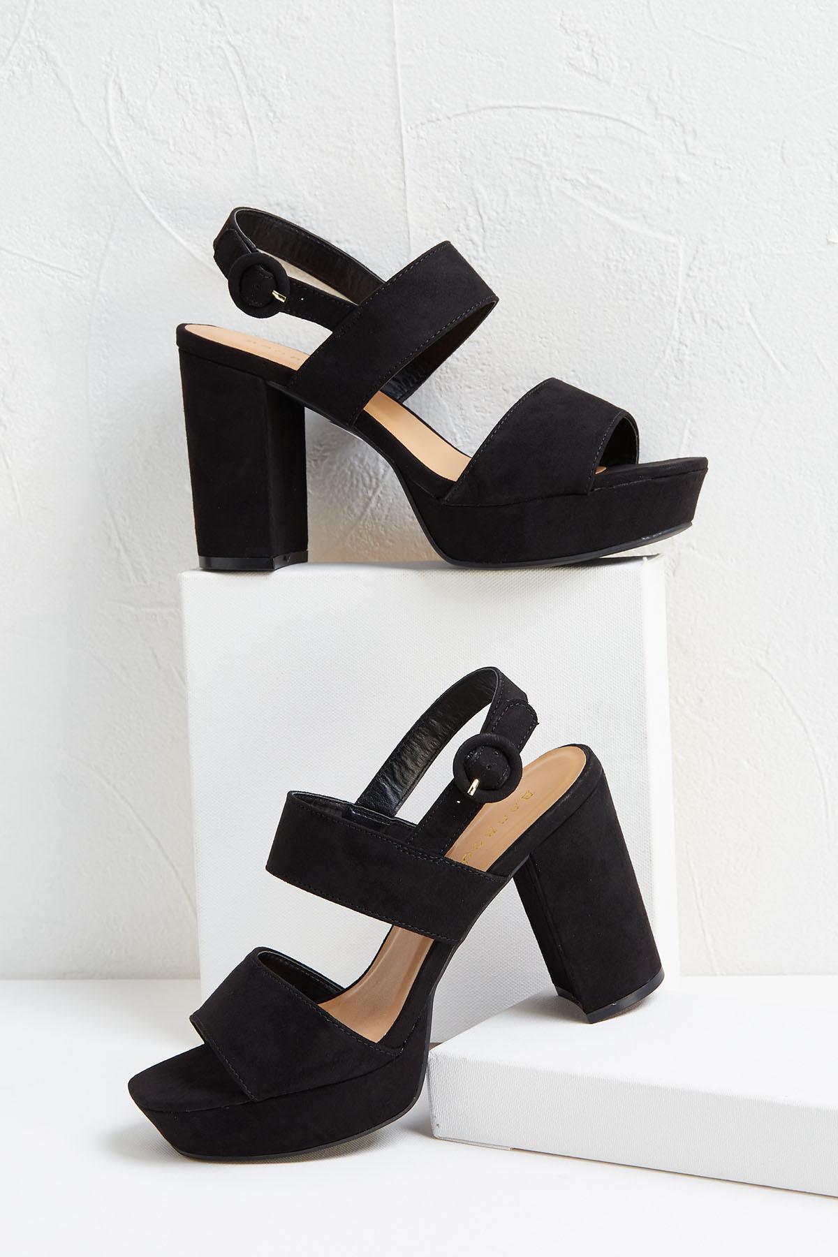 Seventies Platform Heels