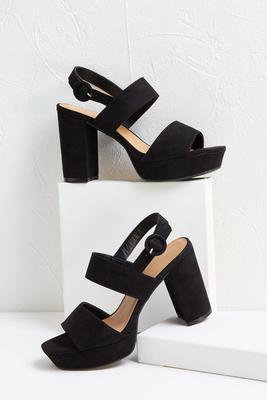 seventies platform heel