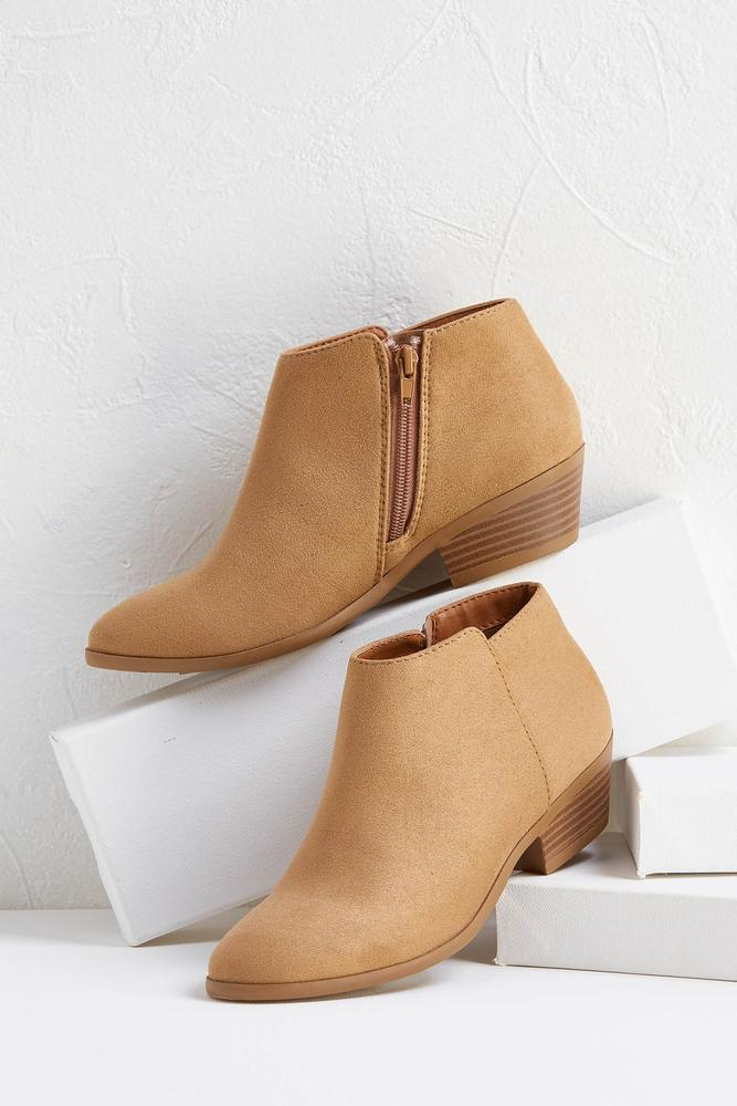 Solid Low Booties