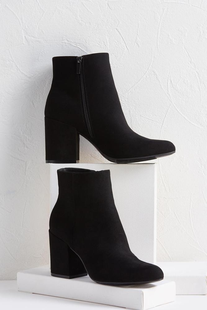 Jenny Block Heel Booties