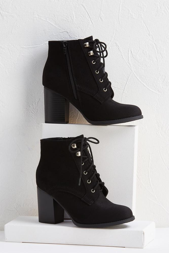 Nashville Lace Up Booties