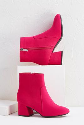 think pink booties