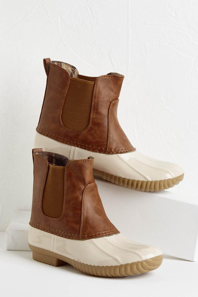 Darling Duck Boots