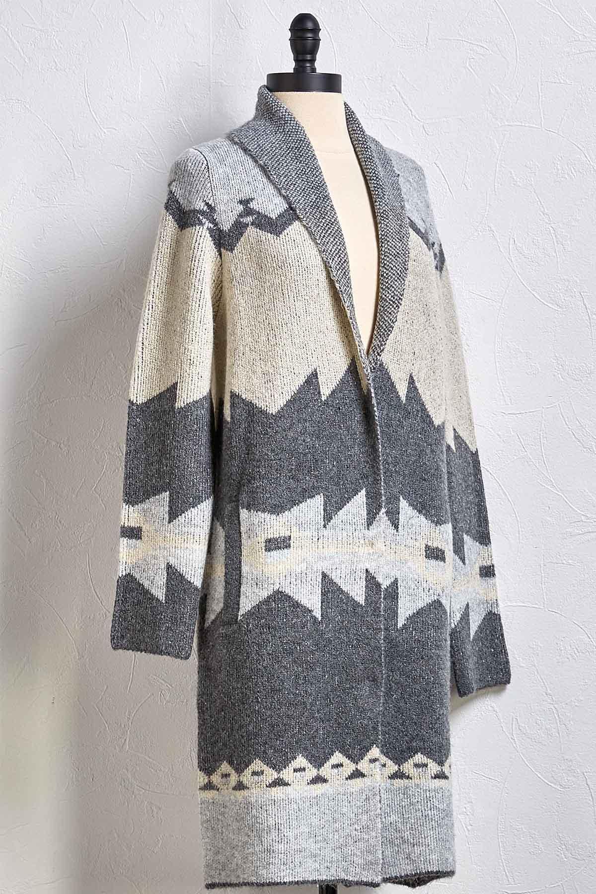 Nordic Shawl Cardigan