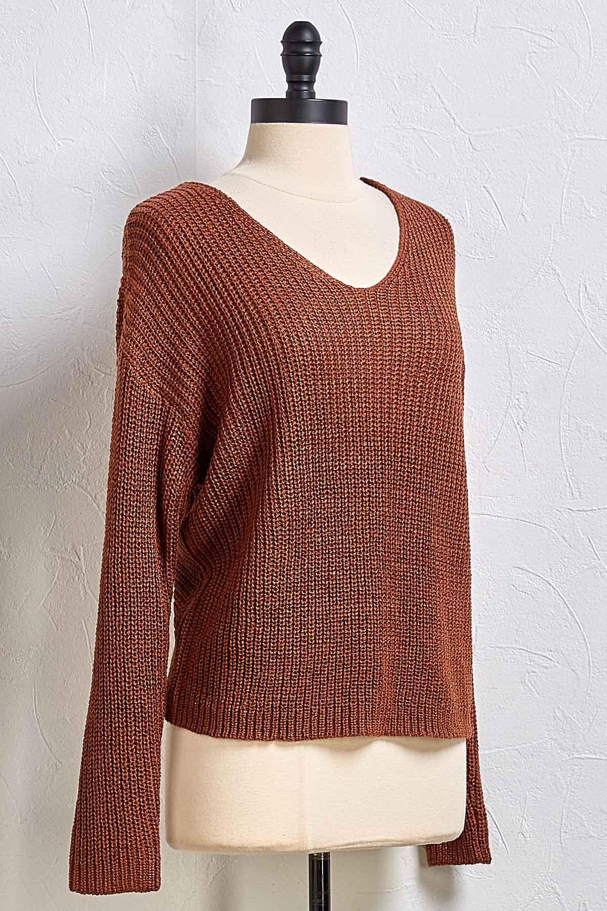 Come And Get Knit Sweater