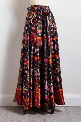 smooth talkin` maxi skirt