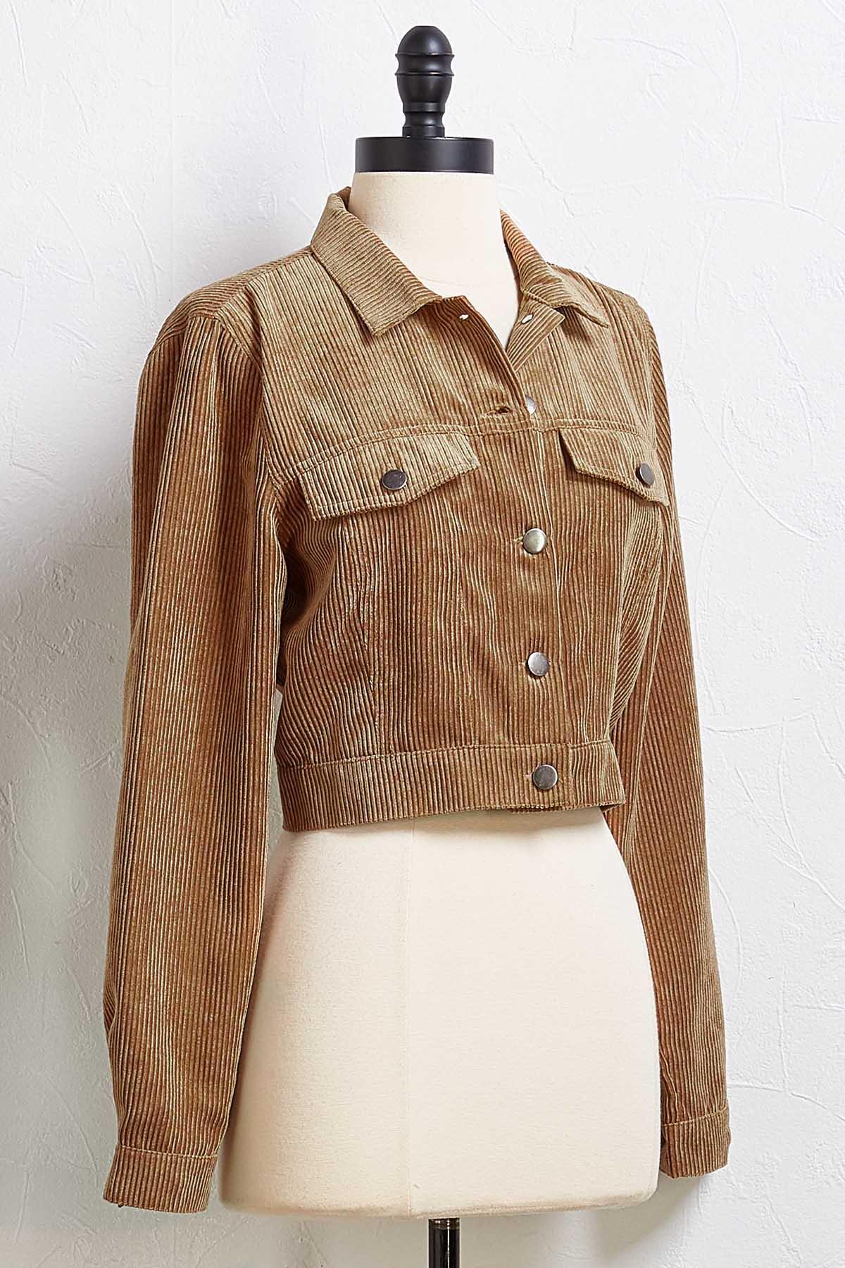 A Secret Cord Jacket