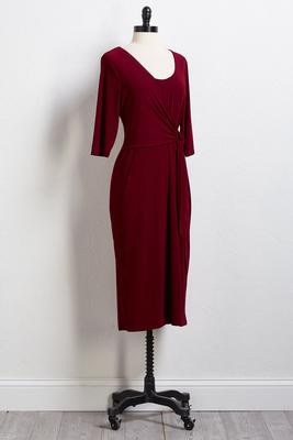 zinfandel tie dress