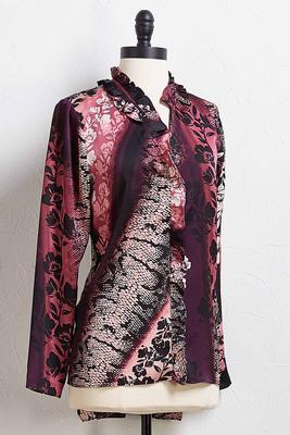 floral snake top