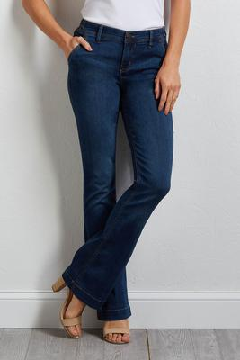 pocket me up flare jeans