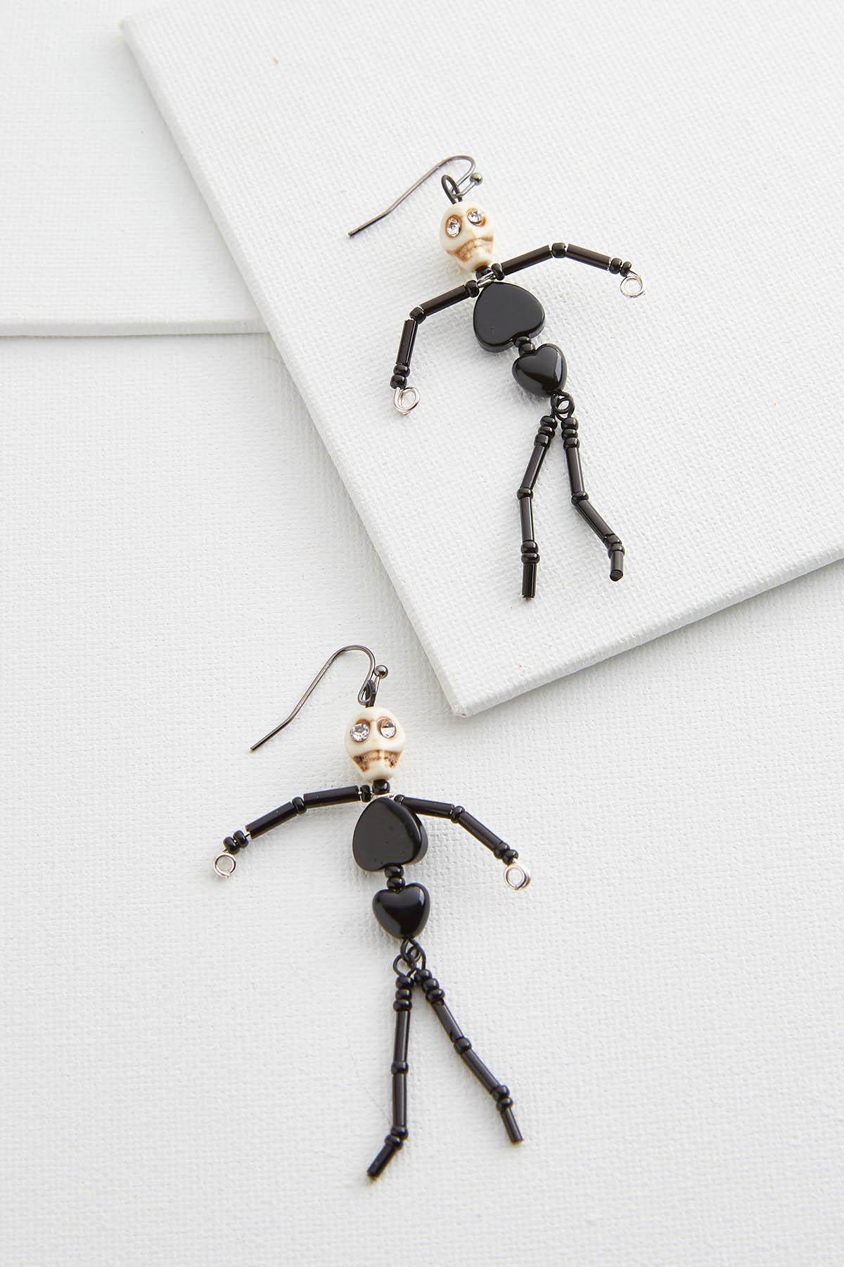 Shaky Skeleton Earrings