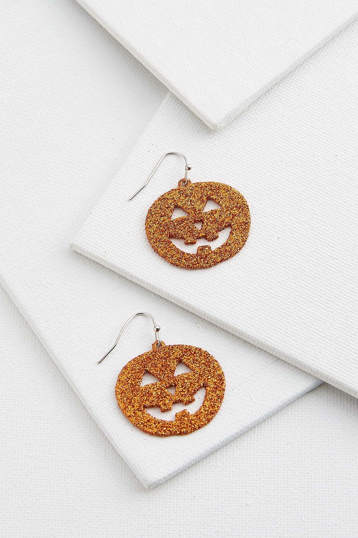 Jack O ` Lantern Earrings