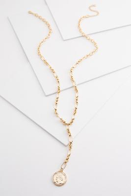 coin y-necklace
