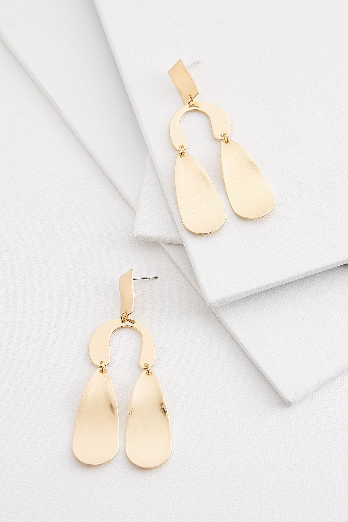 Metal Windchime Earrings
