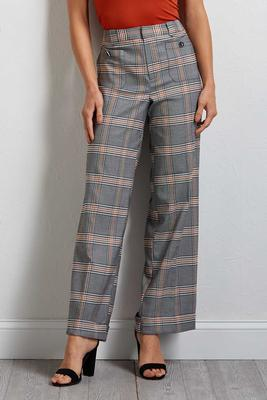 proper plaid cuffed pants
