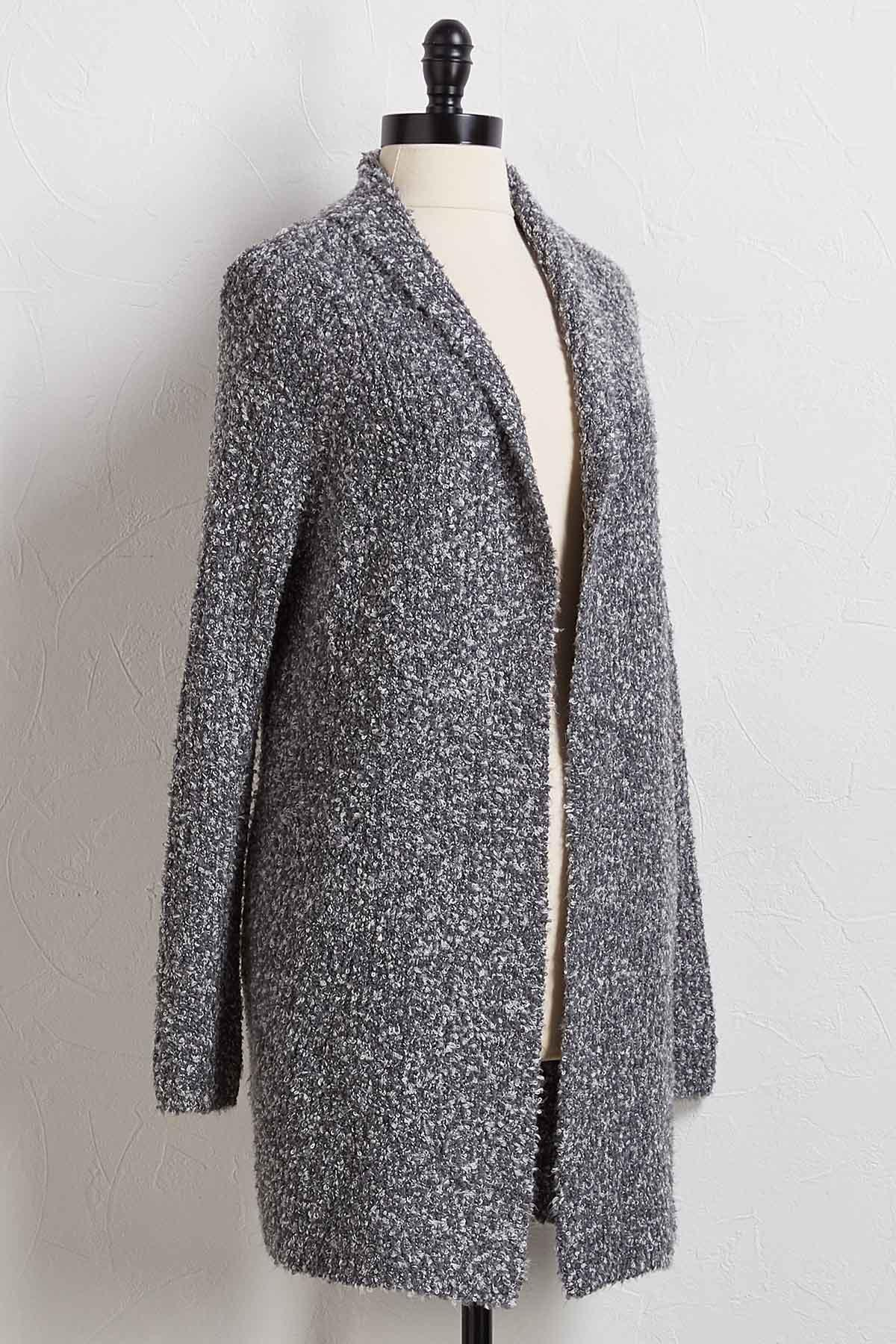 Plush It Cardigan