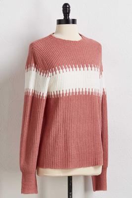 rose to the occasion sweater