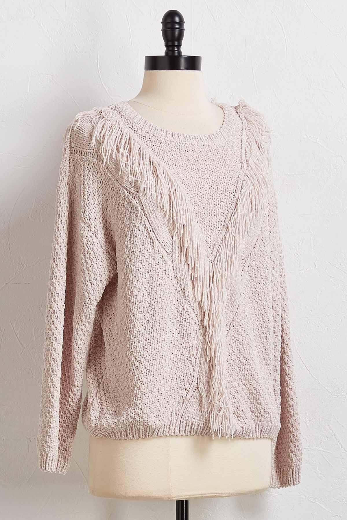 Keep Your Fringe Close Sweater