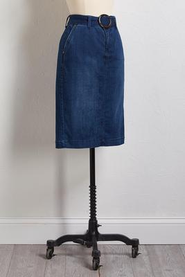 o-mg belted skirt