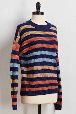 not the jealous stripe sweater