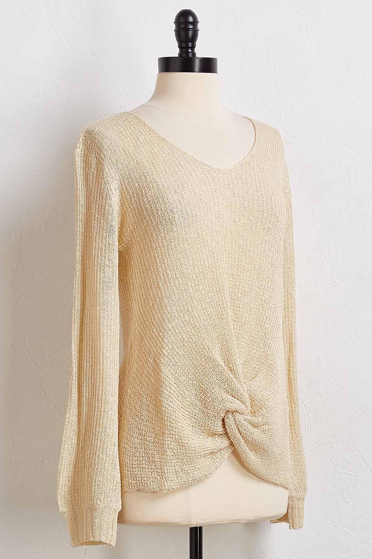 Cream Of The Crop Sweater