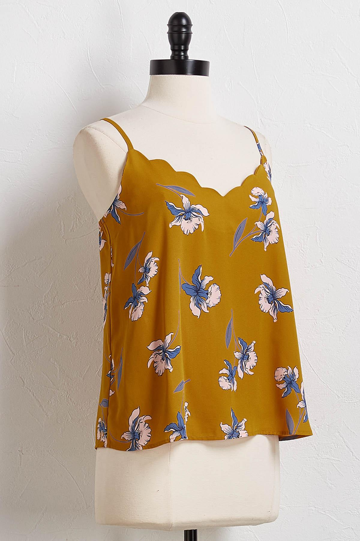 Fall Floral Cami