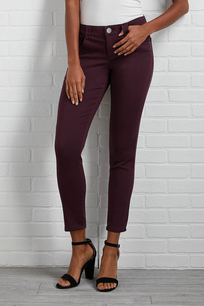 Colored Twill Pants