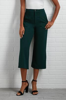utility cropped pants