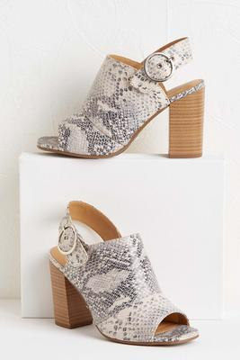 peeptoe mules