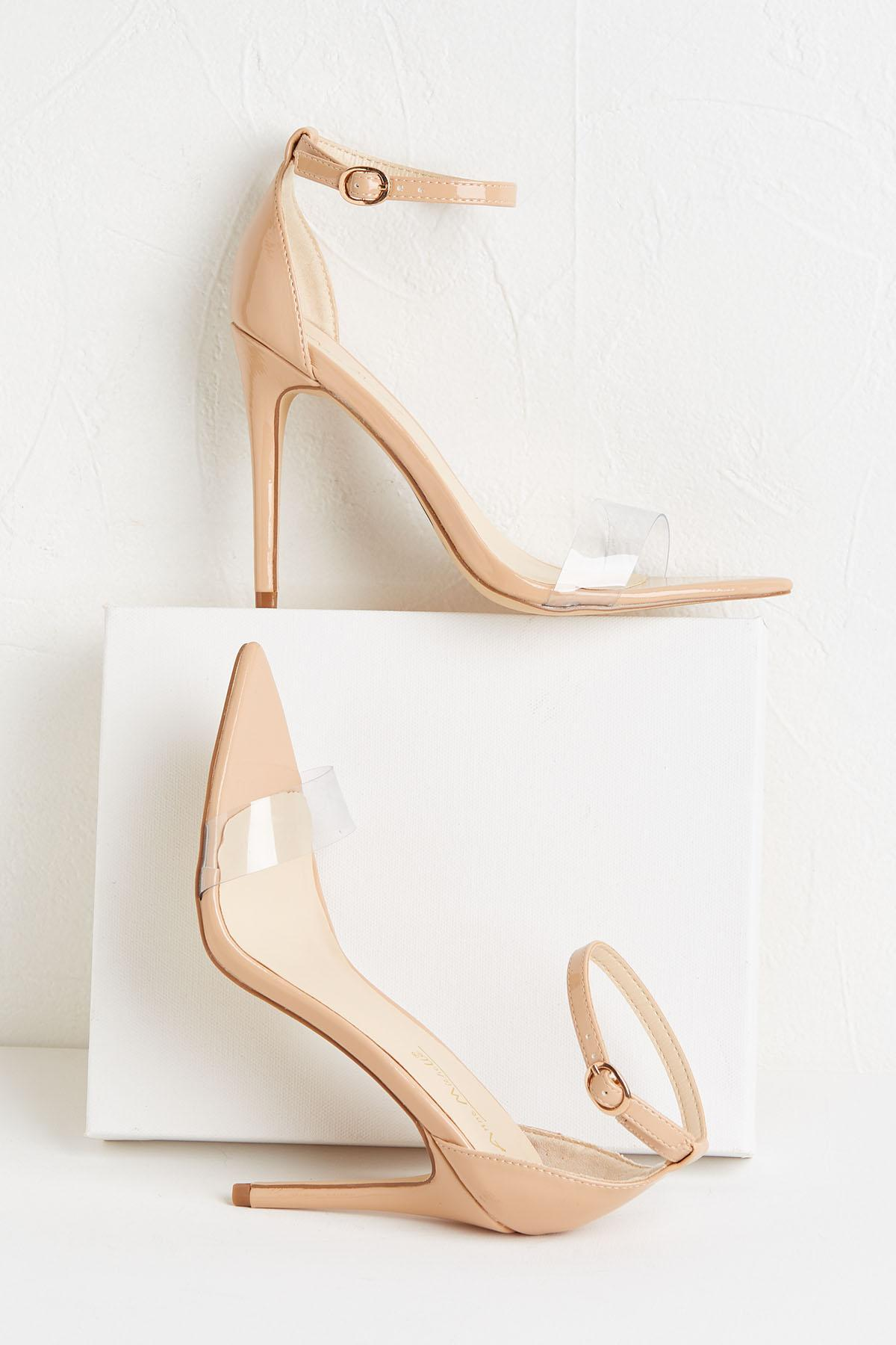 To The Point Nude Heels