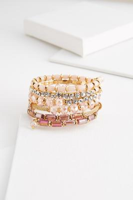 at first blush coil bracelet