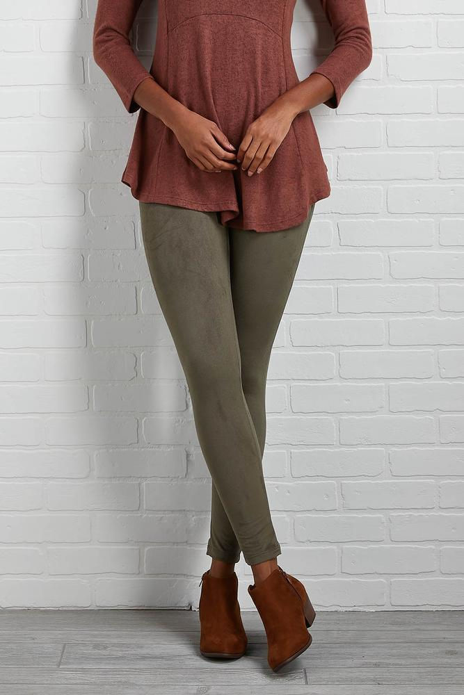 Made In The Suede Leggings