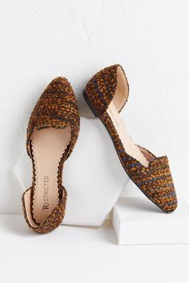 blair tweed flats